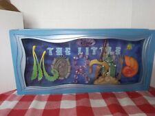 New ListingDisney Dave Avanzino The Little Mermaid Icon Letters Shadowbox Iob Very Rare