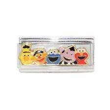 Sesame Street .. Elmo superlink Italian Charm - fit 9mm classic charm bracelets