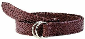 Leather Plaited Belt - Only $79.95 - FREE TRACKED SHIPPING