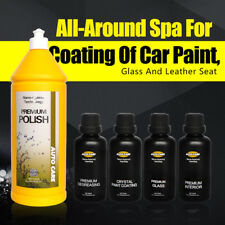 9H Paint Coat Car Wax Nano Ceramic Glass Coating Scratch Repair Paint Polish Kit