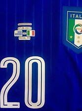 ITALIA maglia BERNARDESCHI match worn shirt spieler maillot porté JUVE JUVENTUS