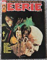 Eerie Magazine #50 VF+ Warren 1973