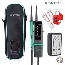 Kewtech kewiso KIT di isolamento 1 con KT1710 Tester dimostrando unità e più