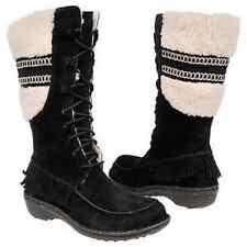 UGG SHORELINE BLACK TALL  BOOT WOMEN SIZE 6.0/M NIB