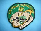 VIETNAM WAR PATCH, US 5th SPECIAL FORCES  OPERATION DETACHMENT ODA -553