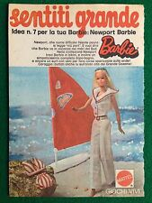 VV101 Pubblicità Advertising Clipping 19x13 cm (1974) BARBIE NEWPORT MATTEL