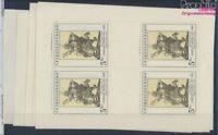 Tschechoslowakei 2534Klb-2538Klb Kleinbögen postfrisch 1979 Kunst (8721461