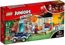 Lego 10761 Juniors Incredibles 2 The Great Home Escape Building Kit 178 Pcs