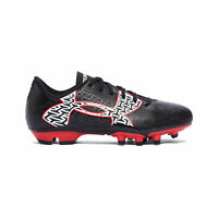 Under Armour ClutchFit Force 2.0 FG Firm Ground Kids Football Boot Black - UK 1
