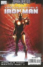 Invincible Iron Man #14 (August 2009) Dark Reign Marvel Comics High Grade