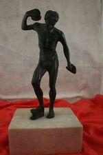 """# 2528 Faun con platillos, sog. """"medici Faun"""", bronce, para 1880, altura 38 cm"""