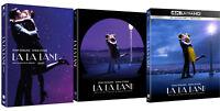 La La Land 4K UHD, Blu-ray, DVD w/ Slipcover / Pick format!