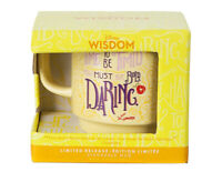 Disney Wisdom Mug Beauty And the Beast Lumiere Limited Release Cogsworth Daring