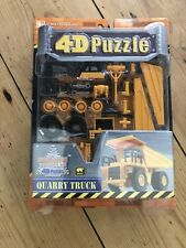 4D Puzzle = 3D + Details  -  QUARRY TRUCK - Age 8+ - 39 pieces