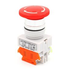 Einloggen Pilz Not-Aus-Druckknopf -RotSchalter,Emergency Stop Push Button Switch