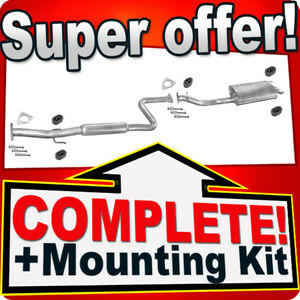 Silencer Exhaust System for Rover 600 620 (RH) 2.0 SDi TD 105HP Saloon 1994-1996