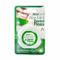 Aloe Dent Natural Dental Floss Aloe Mint 30 Metre