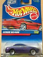 Hot Wheels Lexus SC400 - Col# 770