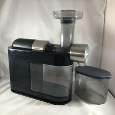 Philips HR1895/74 Micro Slow Masticating Juicer, Black