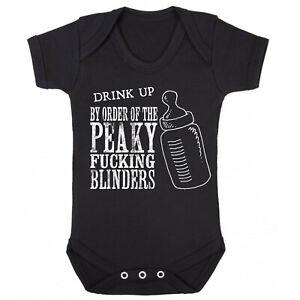 By order of the Peaky Blinder Baby Romper Suit Bodysuit Romper (0-24 months)