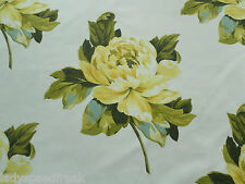 Designers Guild Curtain Fabric CHARLOTTENBERG 4.3m Chartreuse Floral 430cm