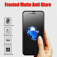 Anti Glare Matte Screen Tempered Glass Protector For iPhone 6/7/8 Plus X XS Sw