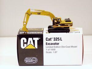 Caterpillar 325L Excavator - 1/87 - Brass - CCM - MIB