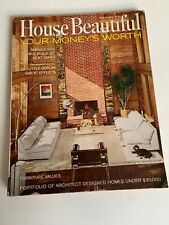 House Beautiful February 1967 Mid Century Modern Houses