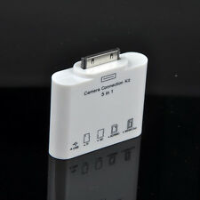 5in1 Camera Connection Kit USB SD TF Card Reader GS for 30pin Apple iPad 3 2 1