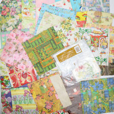 Vintage 1970s / 1980s Hallmark American Greetings Wrapping Paper Sheet Lot 35+