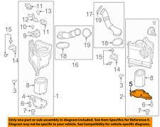 PORSCHE OEM 14-16 Panamera 4.8L-V8 Air Cleaner Intake-Lid Left 97011045100