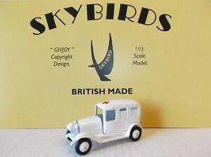 Skybirds Models. Reproduction Taylor & Barrett Ambulance Number 117.