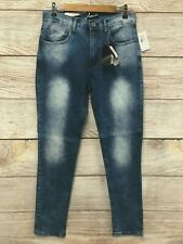 Modern Culture Jeans Mens Size 34X32 CYFAM Wash SKINNY Fit Stretch Jeans New