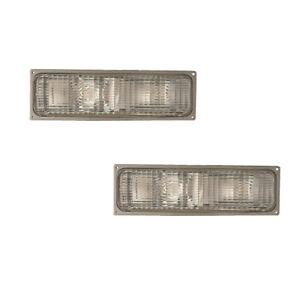 Corner Signal Lights Pair Set for 92-93 Chevy/GMC Blazer/Yukon/Suburban