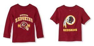 NFL Washington Redskins Boy or Girl Top T- Shirt  Infant  Size 6-9 M ,9-12 M NWT