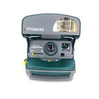 Polaroid 600 OneStep Express Camera (Broken Strap) Flash & Shutter Tested [b]