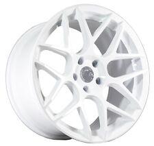 18X9 +30 AodHan LS002 5X114.3 White Wheel fIt SUBARU STI WRX WAGON 5X4.5 CONCAVE