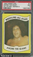1982 Wrestling All Stars Series A #1 Andre The Giant PSA 7 NM
