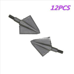 "12x150 Grain Archery Arrow Broadheads 2 Blades Arrow Heads1.1"" OzCut Arrow Point"