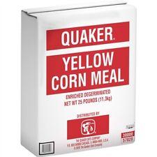 Quaker Yellow Corn Meal, 25lb Bag