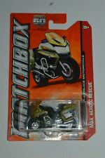 2012 Matchbox BMW R1200 RT-P Police Motorcycle 60 Anniversary Green Color MIC