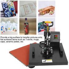 5 en 1 38x38cm presse à chaud Machine imprimante à transfert de chaleur prise FR