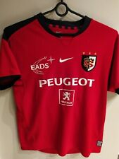 Maillot Rugby Stade Toulousain Peugeot Toulouse Nike vintage S
