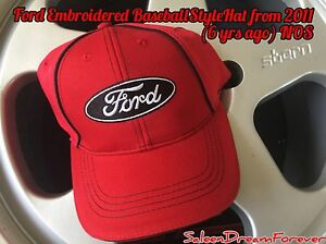 FORD BLACK OVAL EMBROIDERED HAT CAP MUSTANG GT SALEEN SHELBY COBRA SVT 302 GT350