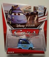 Disney Pixar Cars 2 • CHASE Ruka Stewardess • 2013 Airport Adventures Cardback