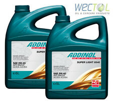 Addinol SUPER LIGHT 0540 5W40 5W-40 2x 5 Liter (10 L) Made in Germany