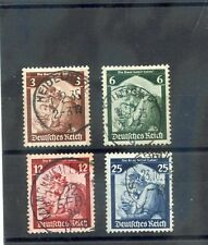 GERMANY Sc 448-51(MI 565-8)F-VF USED 1935 SET $21