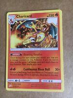 Pokemon Sole e Luna gioco di squadra 14/181 CHARIZARD rara  EN - Mint