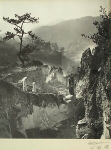 DON HONG OAI PHOTOGRAPH Original PENCIL SIGNED STAMPED CHINESE VIETNAMESE #1
