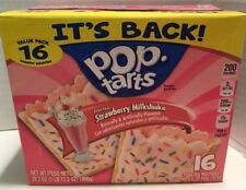 Pop Tarts Frosted Strawberry Milkshake 16 Count Back For Winter 2018 Fresh